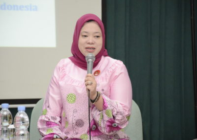 Komisioner Komisi Informasi Pusat, Wafa Patria Umma