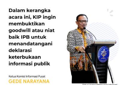 Kepala KIP IPB