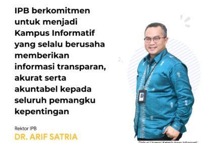 Rektor IPB