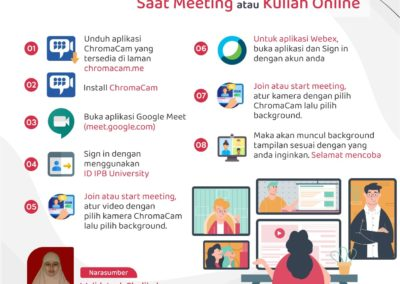 Tips Membuat Background Menarik Saat Meeting atau Kuliah Online