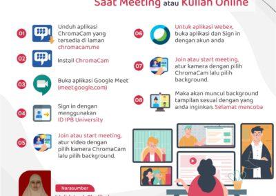 Tips Membuat Background Menarik Saat Meeting atau Kuliah Online