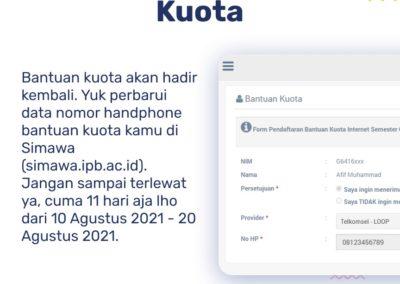 Informasi Bantuan Kuota